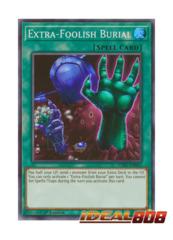 Extra-Foolish Burial - SOFU-EN065 - Super Rare - 1st Edition