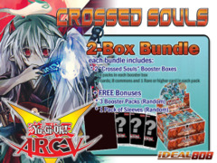 Yugioh CROS Bundle (A) - Get x2 Crossed Souls Booster Boxes + FREE Gifts (See Description)