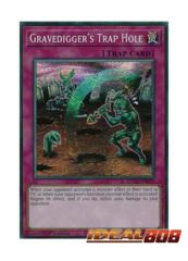 Gravedigger's Trap Hole - ETCO-EN078 - Secret Rare - 1st Edition