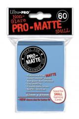 Ultra Pro Matte Non-Glare Small Sleeves 60ct -  Sky Blue (#84270)