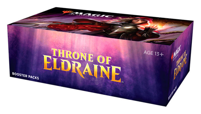 [PRE-RELEASE Sep.27] Throne of Eldraine Draft Booster Box [Buy-A-Box Promo included (In-Store Pickup Only)] * Limit 4 per