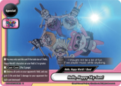 Hello, Happy Sky Jam! [S-UB-C02/0059EN U (FOIL)] English