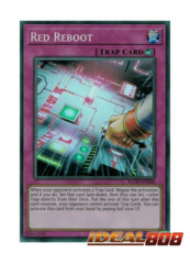 Red Reboot - FLOD-EN068 - Super Rare - Unlimited Edition
