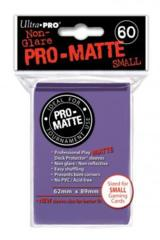 Ultra Pro Matte Non-Glare Small Sleeves 60ct - Purple (#84269)