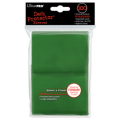 Ultra Pro Large Sleeves 100ct. - Green (#82693)