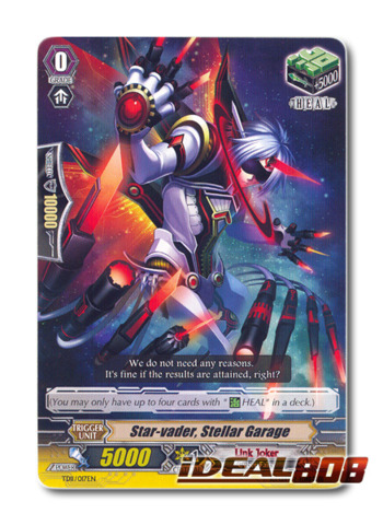 Star-vader, Stellar Garage - TD11/017EN - TD