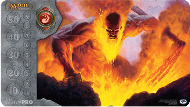 MTG Magic Inferno Titan Ultra Pro Playmat