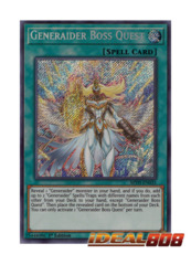 Generaider Boss Quest - MYFI-EN035 - Secret Rare - 1st Edition
