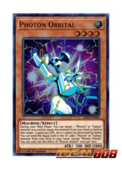 Photon Orbital - LED3-EN036 - Ultra Rare - 1st Edition