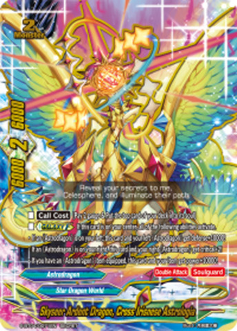 Skyseer Ardent Dragon, Cross Irisnese Astrologia [S-BT04/0071EN Secret (FOIL)] English