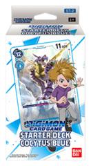 DGMN-ST02 Cocytus Blue (English) Digimon CCG Starter Deck [contains 54 card deck + 1 Ver.1.0 Pack] * PRE-ORDER Ships Nov.27