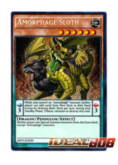 Amorphage Sloth - SHVI-EN030 - Secret Rare - Unlimited Edition