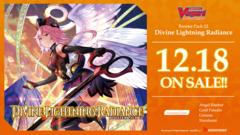 CFV-V-BT12 Divine Lightning Radiance (English) Cardfight Vanguard V-Booster  Case [20 Boxes] * PRE-ORDER Ships Dec.18
