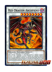Red Dragon Archfiend - HSRD-EN023 - Common - 1st Edition