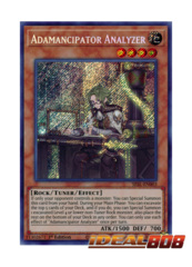 Adamancipator Analyzer - SESL-EN003 - Secret Rare - 1st Edition