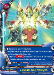 Lend Me Your Strength! [D-BT01A-EB02/0028EN R (FOIL)] English