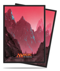 Magic the Gathering MANA 5 Unhinged Mountain Ultra Pro Sleeve 80ct. (#86457)