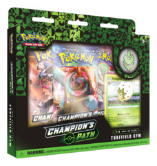 Pokemon TCG: Champion's Path Pin Collection - Turffield Gym (Wave 1) * PRE-ORDER Ships Sep.25