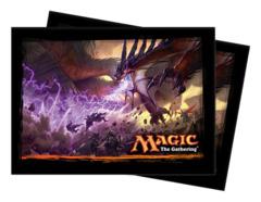 Magic the Gathering DTK Dragons of Tarkir Ultra Pro Sleeve 80ct. - Announcement Art (#86242)