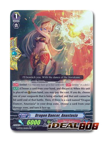 Dragon Dancer, Anastasia - G-BT02/014EN - RR