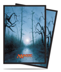 Magic the Gathering MANA 5 Unhinged Swamp Ultra Pro Sleeve 80ct. (#86456)