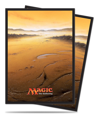 Magic the Gathering MANA 5 Unhinged Plains Ultra Pro Sleeve 80ct. (#86454)