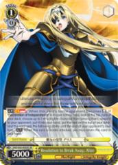 Resolution to Break Away, Alice [SAO/S65-E002S SR (FOIL)] English