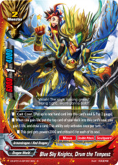Blue Sky Knights, Drum the Tempest [X2-BT01A-SP/0012EN R (Glossy)] English