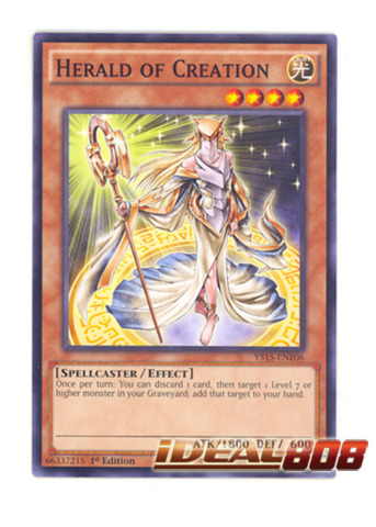 Herald of Creation - YS15-ENF06 - Common - 1st Edition
