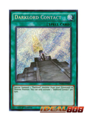 Darklord Contact - DESO-EN035 - Secret Rare - 1st Edition