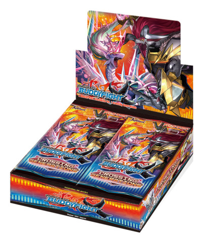 BFE-X-BT01A Crossing Generations (English) Future Card Buddyfight X Alternative Booster Box