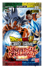 DBS-B09 ~UNIVERSAL ONSLAUGHT~ (English) Dragon Ball Super Booster Pack [12 Cards] <SERIES 09> * PRE-ORDER Ships Feb.14
