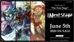 CFV-V-EB14 The Next Stage (English) Cardfight Vanguard V-Extra Booster  Case [24 Boxes] * PRE-ORDER Ships Jun.05