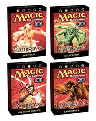 Champions of Kamigawa Precon Theme Deck Set (All 4)