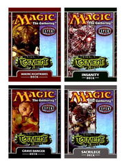 Torment Precon Theme Deck Set (All 4)