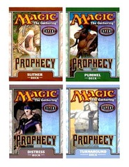 Prophecy Precon Theme Deck Set (All 4)