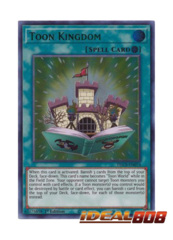 Toon Kingdom (Green) - DLCS-EN074 - Ultra Rare - 1st Edition