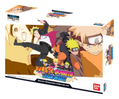 Naruto Boruto Card Game: Naruto Shippuden & Boruto Set - Chrono Clash System [108 Cards]