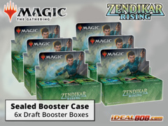 Zendikar Rising Draft Booster  Case [6 Boxes] * PRE-ORDER Ships Sep.25