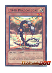 Cyber Dragon Core - SDCR-EN001 - Super Rare - 1st Edition