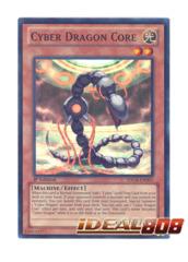 Cyber Dragon Core - SDCR-EN001 - Super Rare - 1st Edition