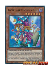 Toon Dark Magician Girl - DUPO-EN041 - Ultra Rare - Unlimited Edition