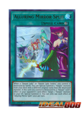 Alluring Mirror Spirit - LED4-EN003 - Ultra Rare - 1st Edition