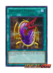Dragon's Mirror - DPRP-EN028 - Rare - 1st Edition