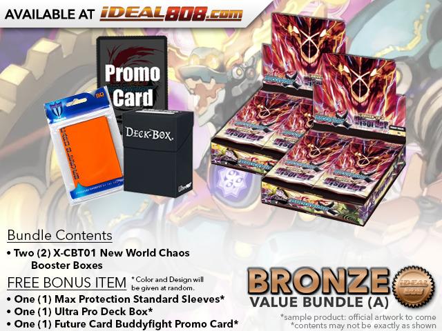 BFE X-CBT01 Bundle (A) Bronze - Get x2 Driven to Disorder Booster Box + FREE Bonus Items