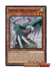 Simorgh, Bird of Calamity - RIRA-EN019 - Common - 1st Edition