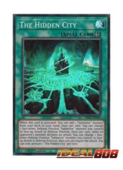 The Hidden City - FIGA-EN049 - Super Rare - 1st Edition