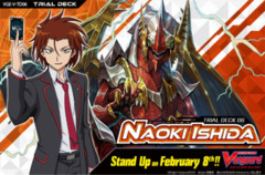 CFV-V-TD06 Naoki Ishida (English) V-Trial  Deck Box [Contains 6 Decks] * PRE-ORDER Ships Feb.08