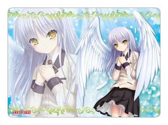 Angel Beats Angel/Kanade Tachibana Ver 2 Broccoli Playmat