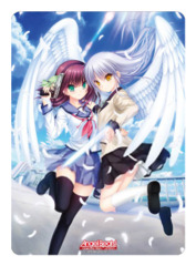 Angel Beats Operation Wars Yuri Nakamura & Angel Broccoli Playmat
